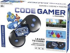 Thames & Kosmos Code Gamer Coding Workshop and Game iOS and Android Compatible    eBay
