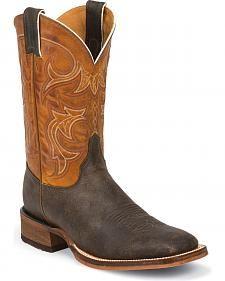 1b2f44ef46e9 Justin Men s Bent Rail Cowboy Boots - Square Toe