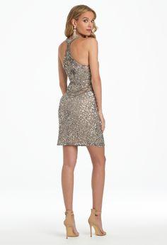 Beaded Sequin Halter Dress (Style part of the Camille La Vie Party Dresses  category 63de69f5b8