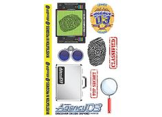 VBS 2014 Agency D3 Stickers | LifeWay Christian--10 sheets for $3.49--Good idea for goody bags