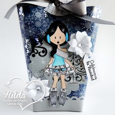 Hilda Designs: Tutorial #47 en LA&C: Bolsa de Regalo