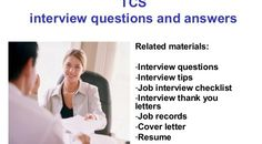 TCS HR Interview Tips , Questions with Answers