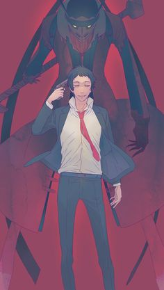 Adachi from Persona 4 Atlus Games, Shin Megami Tensei Persona, Mediums Of Art, Persona 4, Love People, Fire Emblem, Anime Guys, Anime Characters, Cool Girl
