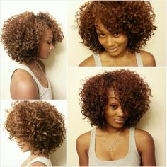 Wash n go glory! To learn how to grow your hair longer click here - http://blackhair.cc/1jSY2ux