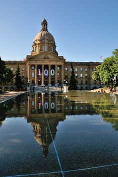 Edmonton Legislature Building Western Canada, The Province, Alberta Canada, Capital City, Great Places, The Good Place, Cool Photos, Scenery, Around The Worlds