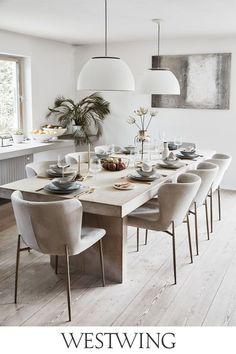 Home Decor Kitchen, Kitchen Interior, Room Interior, Interior Design Living Room, Home Kitchens, Home Room Design, Dining Room Design, Dining Room Table, Home Living Room