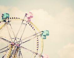 Retro Cotton Candy Ferris Wheel