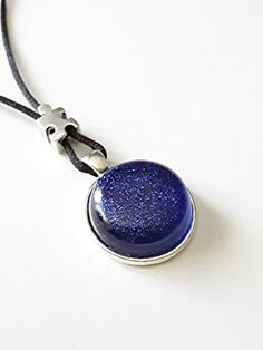 Autism Blue Resin Necklace Handmade Silver Plated Gifts For Mom 2022 Inches -- Check out the image by visiting the link.Note:It is affiliate link to Amazon.