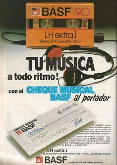 Promo cintas cassette Basf LH extra I, oct 1983