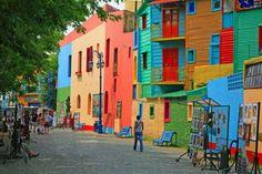 La Boca in Buenos Aires, Argentina