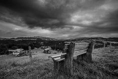 Bench on the Hills BW by Martin Walser on Outdoor Furniture, Outdoor Decor, Bench, Park, Austria, Home Decor, Garden Furniture Outlet, Homemade Home Decor, Decoration Home