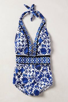 style Nanette Lepore Etienne Maillot swimsuit from Anthropologie Summer Of Love, Summer Wear, Summer Outfits, Spring Summer, Summer 2014, Fashion Mode, Womens Fashion, Sup Yoga, Cute Swimsuits