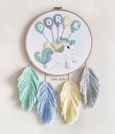Lalila Atelier by Başak & Fatma on I Embroidery Flowers Pattern, Baby Embroidery, Learn Embroidery, Embroidery Hoop Art, Cross Stitch Embroidery, Embroidery Designs, Punch Needle Patterns, Punch Art, Rug Hooking