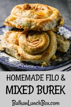 Did you ever wonder how wonderful, flaky, Balkan meat pie is made? Wonder no longer as we're delving into homemade filo, stretched into thinnest of sheets intended for making stuffed savory pastries. Easy Homemade Recipes, Dinner Recipes Easy Quick, Lunch Recipes, Appetizer Recipes, Beef Recipes, Easy Meals, Fast Recipes, Sweets Recipes, Yummy Recipes