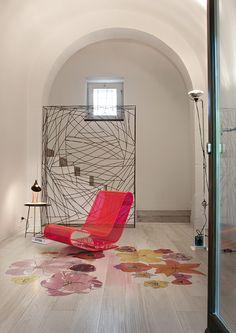 www.forgiarini.net parquet Xilo1934 Tulipae Gemini, design Ronald Van Der Hilst for XILO1934 wood floors.