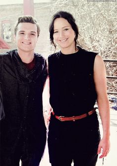 Hunger Games / Catching Fire Set / Movie / Josh / Peeta / Jennifer Lawrence / Katniss.