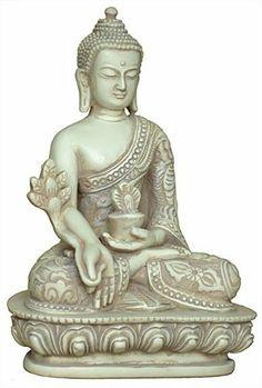 Vert Brass Indian Statue De Bouddha Religieux Sculpture Table Ethnique Statue D/écor
