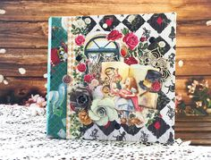Freetany Flowers: МК по пятницам. Обложка сказочного альбома от ПД Марии Самарской