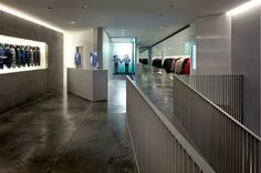 Image 5 of 6 from gallery of Tadao Ando Architecture Exhibition. Courtesy of Duvetica Tadao Ando, Small Study, Polished Concrete, Shop Window Displays, Built Environment, Design Lab, Retail Design, Minimalist, Flooring