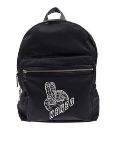 KENZO Kenzo Backpack. #kenzo #bags #leather #polyester #nylon #backpacks #