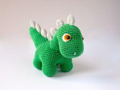 Dino, el dinosaurio amigurumi                                                                                                                                                                                 Más