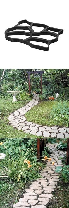 How to make stepping stones ~ we're SO doing this once we get the new front porch built!