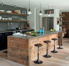 Inviting Rustic Hamptons Interior