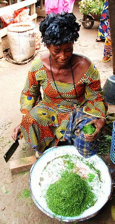 At the market . Congo                                                                                                                                                                                 Mais