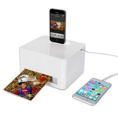 The Any Device Photo Printer - Hammacher Schlemmer