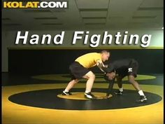 Hand Fighting Head Control KOLAT.COM Wrestling Techniques Moves Instruction