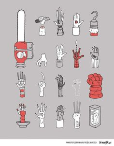 Movie Arm. Can you guess all?