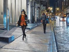 Realist oil NYC paintings and artist's new series with nature and botanicals New Series, Soho, New York City, Nyc, Studio, Night, Nature, Painting, Naturaleza