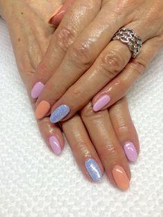Nail Cnd shellac Color nailart glitter