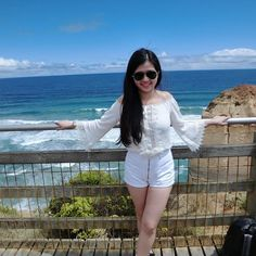 My favourite blue sky and blue ocean  #ocean#blue#sky#ootd#potd#greatoceanroad#12apostles#summer#australia#victoria#white by xiao_tongtong http://ift.tt/1ijk11S
