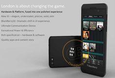 """Imágenes de """"London"""", el primer smartphone con BlackBerry 10"""