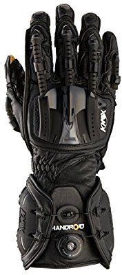 Amazon.fr : Knox Handroid Motorcycle Gloves (CE Approved), Noir, XL