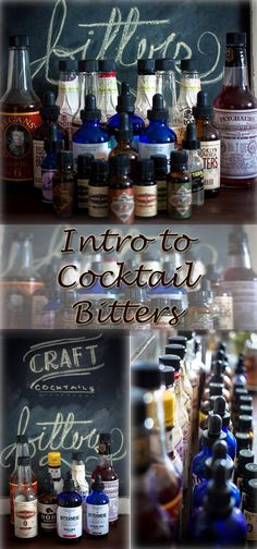Intro to cocktail bitters - what you need to know when crafting the perfect cocktail. A must read!