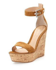 Ankle-Wrap+Platform+Wedge,+Brown+by+Gianvito+Rossi+at+Neiman+Marcus.