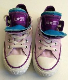 f99b9dc42718dc Details about CONVERSE ALL STAR MULTI COLOR 5 TONGUES RARE WOMEN S SIZE 6  VGC
