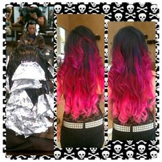 Totally getting my hair dyed like this!!! ;-D