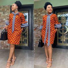 African dress - 2019 Lovely Ankara short Gown Styles for Pretty Ladies Short African Dresses, Ankara Short Gown Styles, Short Gowns, African Print Dresses, African Prints, Ankara Gowns, African Fabric, Kente Styles, African Fashion Ankara