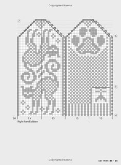 Jorid Linvik's Big Book of Knitted Mittens: 45 Distinctive Scandinavian Patterns Knitted Mittens Pattern, Fair Isle Knitting Patterns, Knitting Paterns, Knit Mittens, Knitting Socks, Crochet Gloves, Knitted Bunnies, Scandinavian Pattern, Crochet Quilt