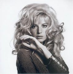 Monica Vitti, 1969: very favourite muse of Michelangelo Antonioni, who's films she starred in during the '50's,
