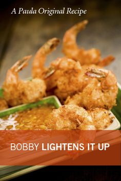 Paula Deen Bobby's Lighter Coconut Shrimp