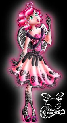 Monster High: C.A. Cupid by NemoTurunen.deviantart.com on @DeviantArt