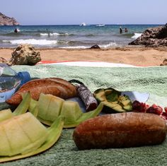 Lunch with a view #aguasblancas #ibiza #beautifulplaces #secretplaces #wonderfulplaces #vacation #summer2016 #balearicislands