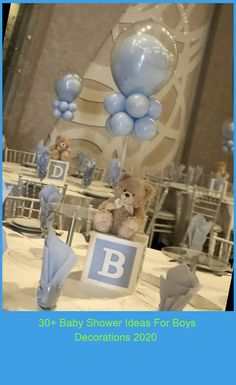 baby shower ideas for boys decorations 30+ Baby Shower Ideas For Boys Decorations 2020
