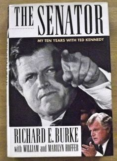 The Senator : My Ten Years With Ted Kennedy First Edition by ParagonAlley on Etsy