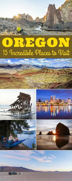 Oregon Road Trip: 15 Beautiful Places to Visit in the Pacific Northwest – Wandering Wheatleys Oregon Road Trip, Oregon Travel, Usa Travel Guide, Travel Usa, Travel Trip, Travel Destinations, Beautiful Places To Visit, Cool Places To Visit, Beauty Dish