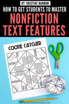 Freebies to Help Students Master Nonfiction Text Features 4th Grade Classroom, Middle School Classroom, High School, French Language Learning, Language Arts, English Language, Japanese Language, Teaching Spanish, Teaching Resources